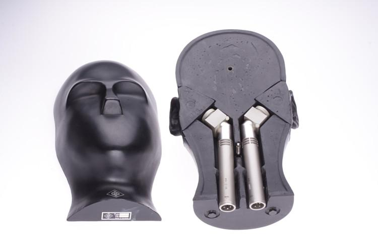 NEUMANN KU80 i Vintage Kunstkopf Kondensator Stereo Mikrofon KU-80  #ohne