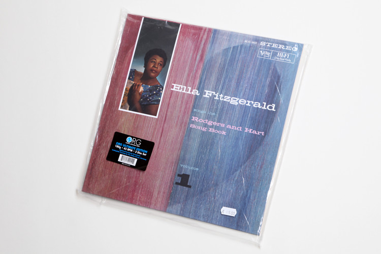Ella Fitzgerald sings Rodgers and Hart Songbook -180g Vinyl Doppel-LP